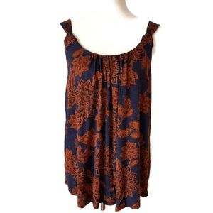 NWT Maurices Blue and Orange Tank